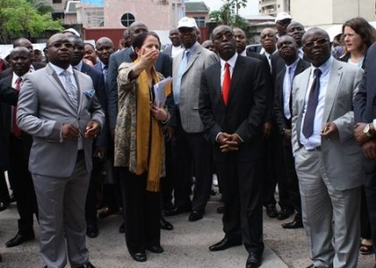 Historic day for health in the DRC