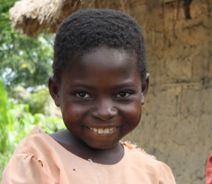 Meet 6 year old Synphorose, who has been protected from illnesses by her healthy village