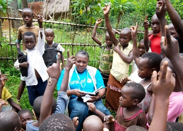 Working with UNICEF in the Democratic Republic of Congo