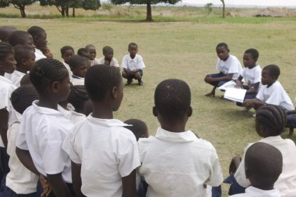 How we got the Pygmies and the Bantus in our School to Make Friends