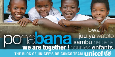 Ponabana UNICEF RDCongo team blog