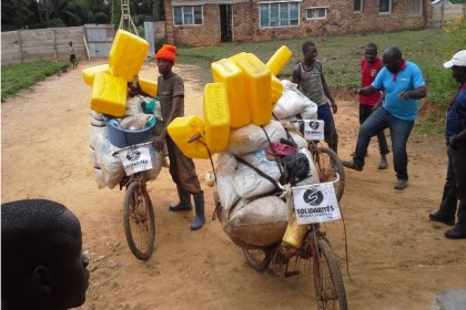 Bicycles to deliver humanitarian aid