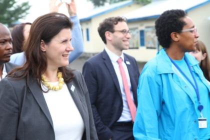 The Security Council Working Group on children and armed conflict visiting the DRC !