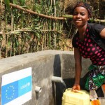 Drinking water and family latrines for returnees in Mwenga