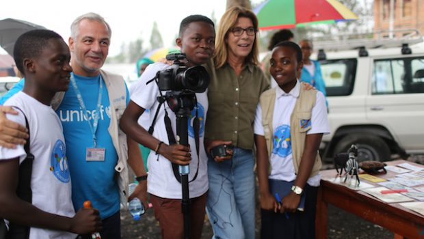 A Princess in DRC to support children affected by violence