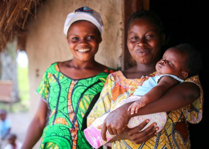 Espérance, a young mother serving in community health