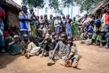 Children affected by conflict and disaster