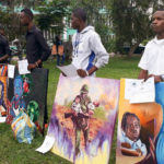 A competition to promote children's rights in the DRC