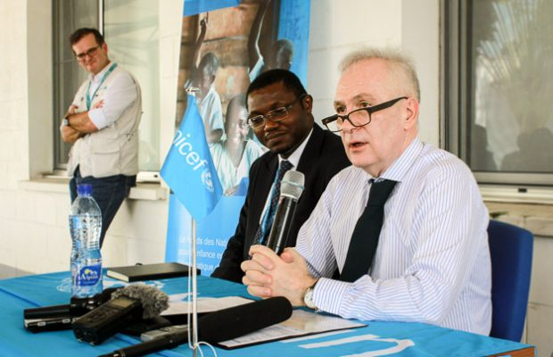 UNICEF Representative in the DRC leaves on a note of hope and challenges