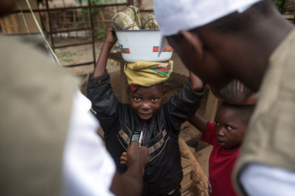 Child Reporters turned to equality and the future in Bandundu
