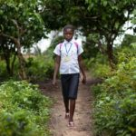 From a summer camp to school : Merveille's moving testimony