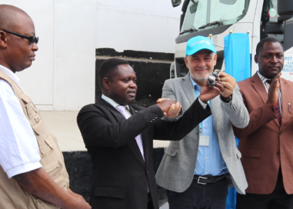 A truck to improve the health of children in North Kivu