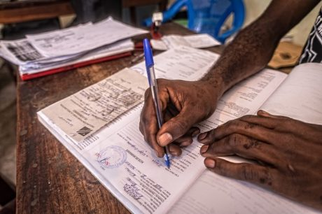 Toward catching up on birth registrations in Kasai: Trevor's story