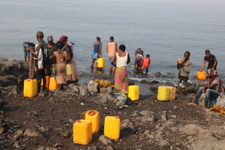 Children's health threatened by the cholera epidemic in Goma