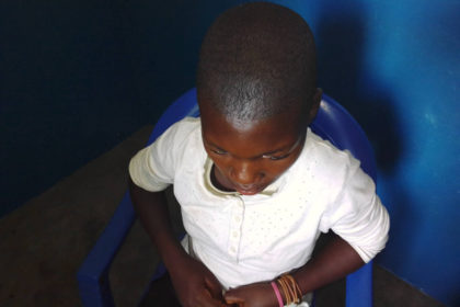 Justine*, a child forever affected by the violence in Kasaï