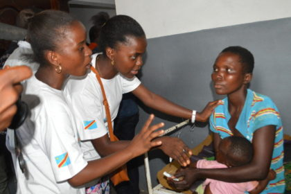Young Reporters come to the aid of vulnerable people in Kasai