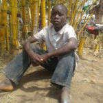 Displaced by the violence, Shukuru dreams of resuming his normal life