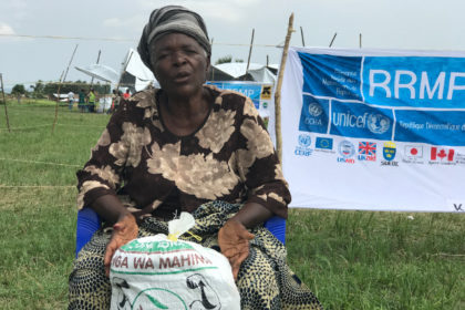 Tanganyika : support for people displaced by violence
