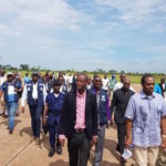 Ebola epidemic in the Equateur province: the Minister of Public Health visits affected zones, accompanied by the Representatives of WHO and UNICEF