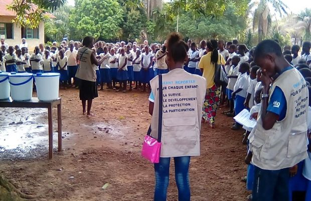 The Young Reporters of Bikoro are mobilizing against Ebola