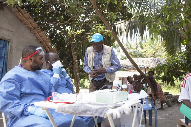 Ebola vaccination in Mbandaka