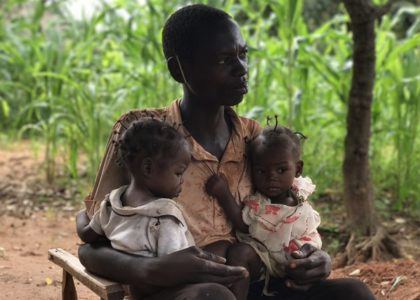 Children continue to suffer from malnutrition in Kasai