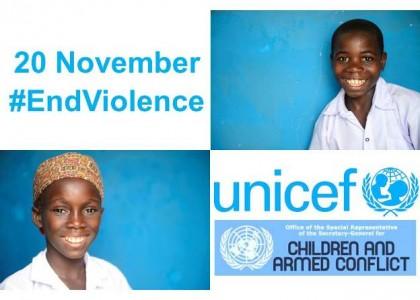 Nous, Enfants Reporters, engagés pour « Mettre fin aux violences faites à l'enfant »