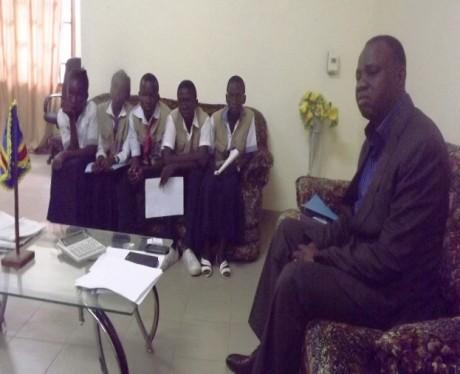 Rencontre avec le President de l'Assemblee Provinciale du Bandundu