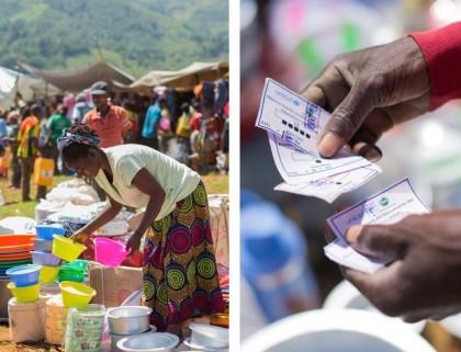 RRMP : ECHO continue de soutenir l'UNICEF et OCHA pour les foires en articles ménagers essentiels