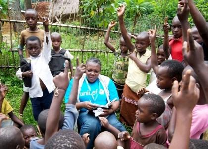 Travailler avec l'UNICEF en République Démocratique du Congo