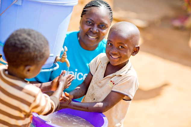 Working with UNICEF in the DRCongo