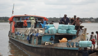 Challenge: Deliver 1.25 million mosquito nets in the Maniema province