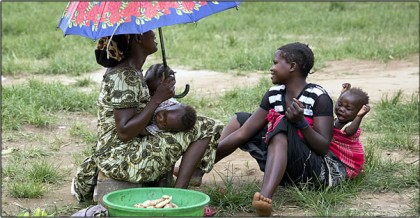 Les réfugiés de Centrafrique : l'espoir en partage