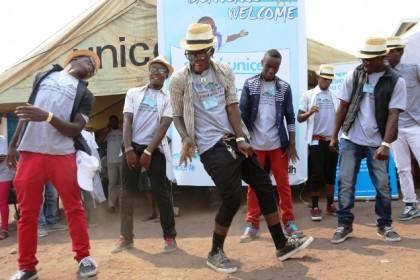 Paix, Musique et Droits de l'Enfant au Festival Amani 2014