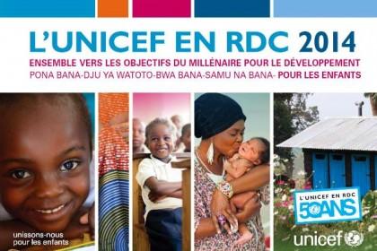 Gagnez le calendrier 2014 de l'UNICEF en RDC !