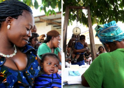 How can we reduce maternal, infant and child mortality in the DRC?