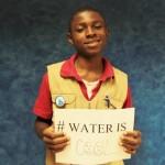 Que représente l'eau pour vous?