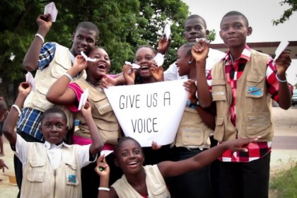 Giving girls and boys a voice!