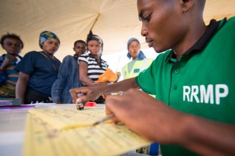 Une réponse dynamique: le partenariat UNICEF-ECHO dans l'est de la RDC