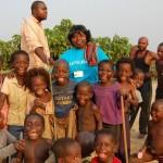 La joie des enfants du village de Bisiala – 28 mars 2014