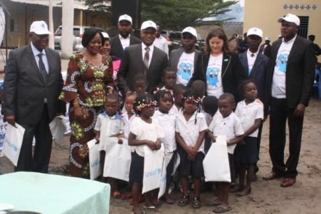 RDC : L'Ecole primaire Lisala/CBFC sert de cadre au lancement de la campagne d'inscription 2014-2015 des enfants à l'école primaire