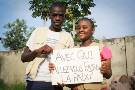 L'EPSP et L'UNICEF célèbrent la Journée Internationale de la Paix le 21 septembre 2014