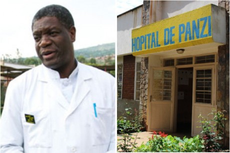 Réparer les femmes: Dr. Mukwege reçoit le Prix Sakharov