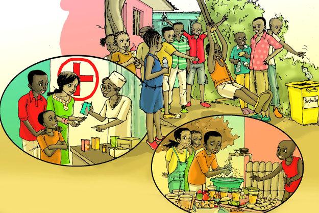Connaissez-vous les droits de l'Enfant ? N°5 : Le droit à la Santé
