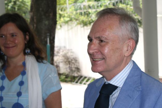 Pascal Villeneuve, le nouveau Représentant de l'UNICEF en RDC, prend officiellement ses fonctions