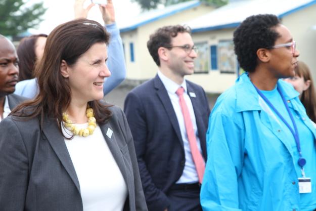 Le Groupe de Travail du Conseil de Sécurité sur le sort des enfants en temps de conflit armé en visite en RDC !