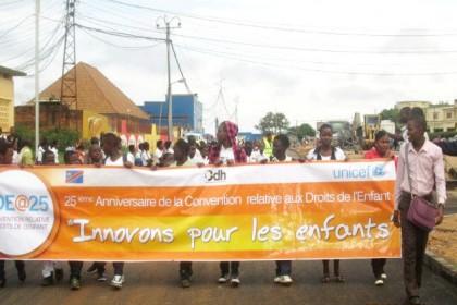 Pour nos droits d'enfants en Ituri