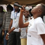 Music for peace and children in Goma