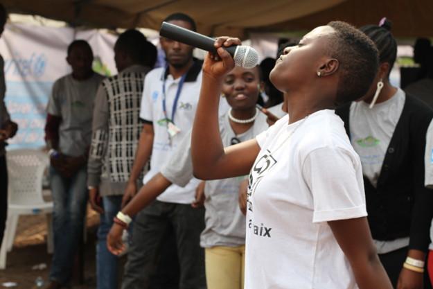 A Goma, la musique pour la paix et les enfants