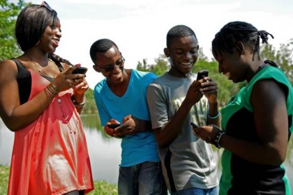 With U-Report, phones are a new voice for children